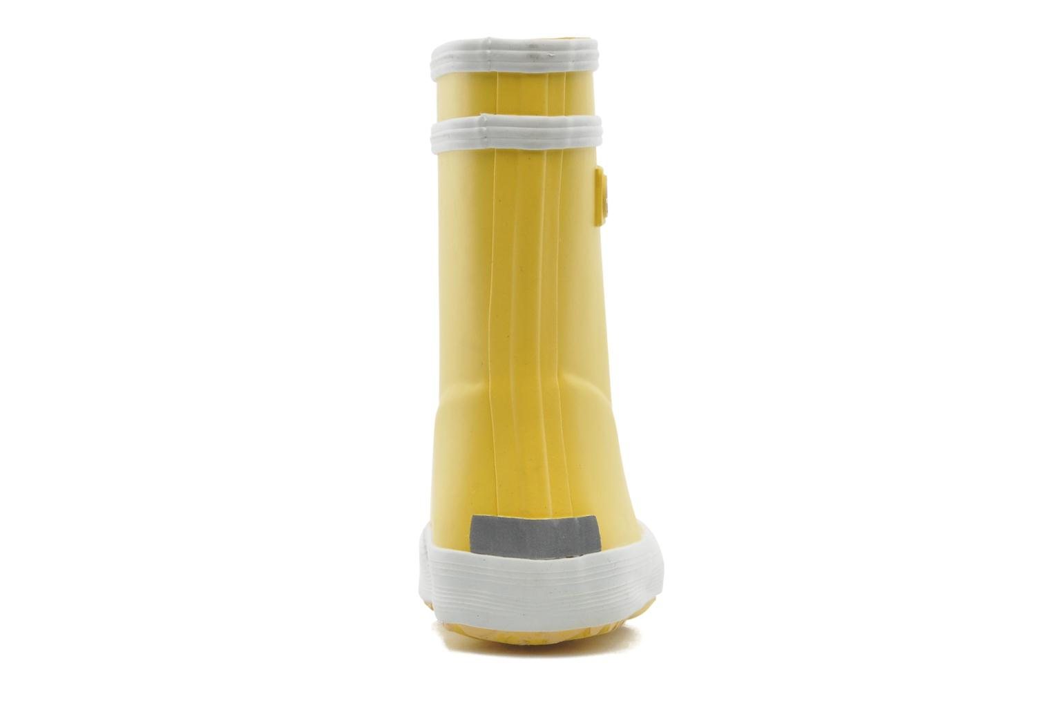 Boots & wellies Aigle Baby Flac Yellow view from the right